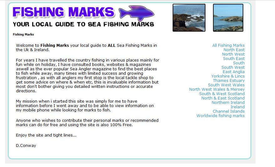 Fishing Marks