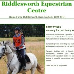 riddlesworthequestriancentre